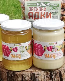 Акациев мед и Пролетен многоцветен мед – 720г, 10бр